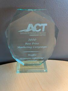 TRAFFIX ACT Award